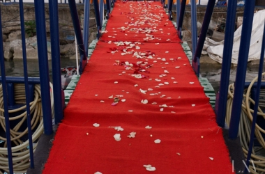 red carpet manila yacht party